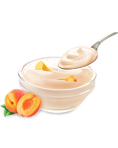Heumilch Aprikosenjoghurt