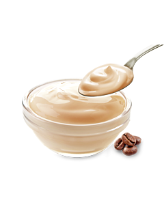 Heumilch Moccajoghurt
